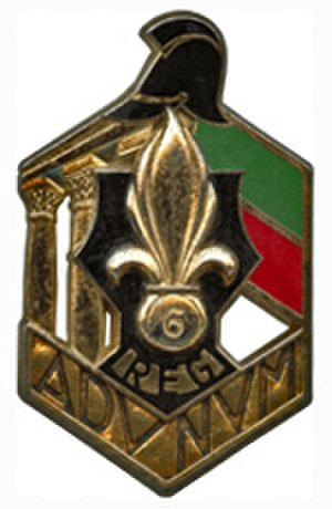 6th Foreign Engineer Regiment - Regimental Insignia of 6e REG