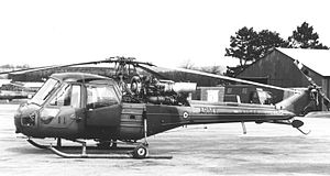 No. 663 Squadron AAC - 663 Squadron AAC Westland Scout AH.1 in 1969