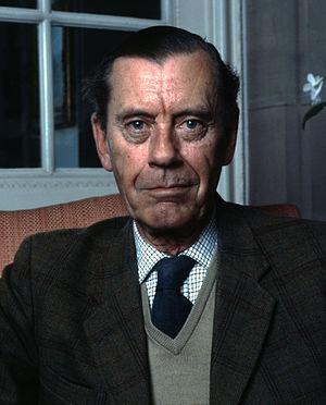 John Egerton, 6th Duke of Sutherland - Portrait by Allan Warren, 1983
