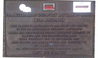 7th Australian Infantry Battalion 23rd Brigade memorial plaque Darwin.jpg