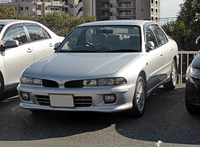 7th generation Mitsubishi GALANT Viento Sedan front.JPG