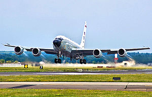 95th Reconnaissance Squadron - 95th Reconnaissance Squadron RC-135V Rivet Joint ISR aircraft.