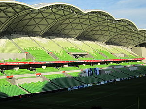 Melbourne Rectangular Stadium - AAMI Park Eastern Stand