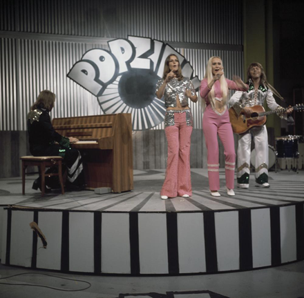 ABBA was one of Sweden's most successful pop bands ABBA - Popzien 1973 5.png