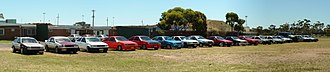 Toyota AE86 - Variety of AE86s at 2004 Hachiroku.com.au Annual AE86 Meet-Up in Melbourne, Australia.
