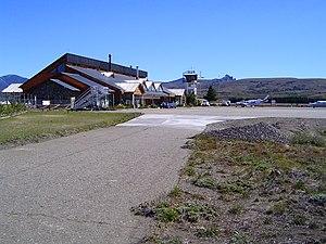 Aviador Carlos Campos Airport - Image: AEROPUERTO CHAPELCO AVIADOR CAMPOS