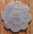 ALBERTA, RED DEER -RED DEER BAKERY, C.W. HAMILTON BREAD TOKEN pre 1940 b - Flickr - woody1778a.jpg