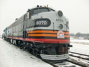 Arizona Eastern Railway - Image: AZER 6070 E 8 locomotive