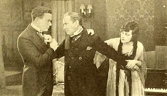 J. Stuart Blackton - Herbert Rawlinson, Lawrence Grossmith, and Sylvia Breamer in A House Divided (1919)