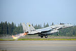A Japanese Air Self-Defense Force F-15 Eagle aircraft takes off during Red Flag-Alaska 13-3 at Eielson Air Force Base, Alaska, Aug. 13, 2013 130813-F-UP786-259.jpg