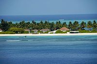 A beach side resort at Kadmat Island, Lakshadweep.jpg