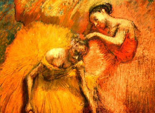 A gorgeous Degas painting in Buenos Aires