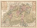 A new map of Switzerland - divided into the thirteen cantons with their allies & their subjects LOC 2009579456.jpg