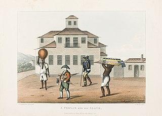 A pedlar and his slave