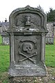 A symbolic stone in St Andrew's Old Kirkyard - geograph.org.uk - 990621.jpg