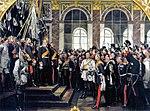 A v Werner - Kaiserproklamation am 18 Januar 1871 (3. Fassung 1885).jpg