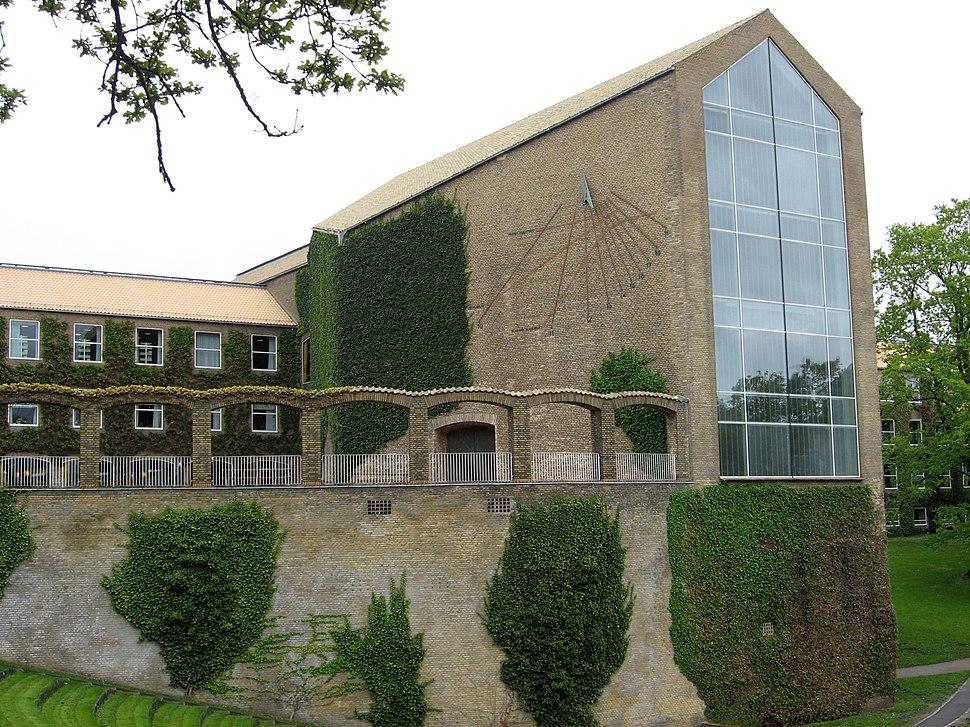 Aarhus Universitet - hovedbygnings bagside