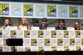 Aaron Paul, Anna Gunn, Bob Odenkirk, RJ Mitte & Dean Norris (9365333110).jpg