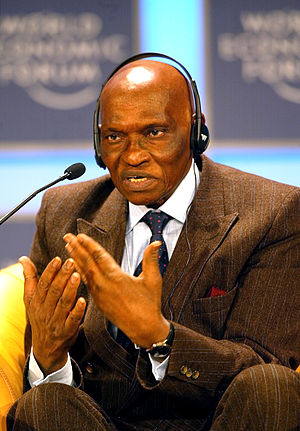 Senegalese presidential election, 2012 - Image: Abdoulaye Wade