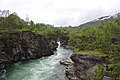 Abisko Mountain Station river - panoramio.jpg