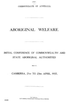 Aboriginal welfare 1937.djvu