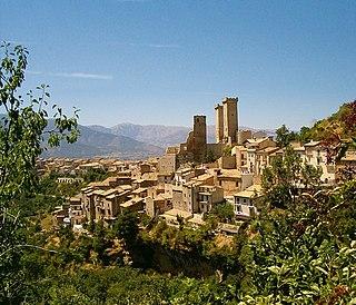 Pacentro Comune in Abruzzo, Italy