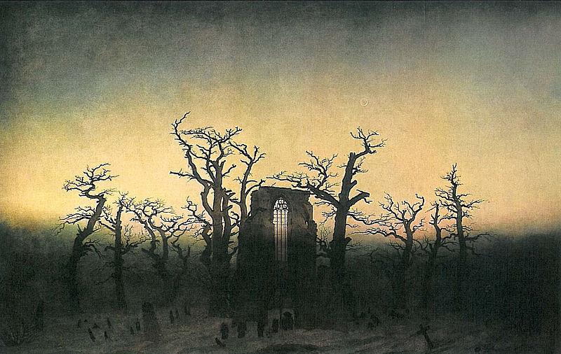 File:Abtei im Eichwald (C D Friedrich).jpg
