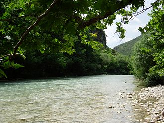 Acheron - Acheron river near the village of Glyki.