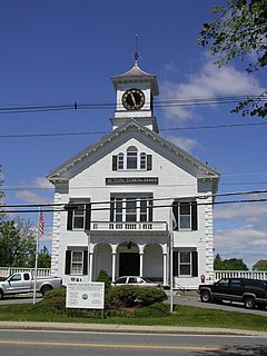 Acton Centre Historic District United States historic place