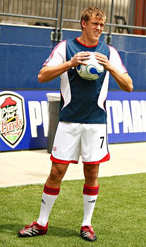 Adam Cristman - Cristman as a player for the New England Revolution