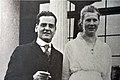 Adele und Gottlieb Duttweiler - Heirat 29.3.1913 - Strohhaus-Ausstellung 'Park im Grüene' 2015-06-17 18-23-25.JPG