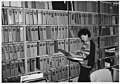 Adeline Vallejo is Updating SF-135's on File in the Accessioniong and Disposition Branch Office - DPLA - a9590f4deee6e40051d20d447ea5a7dd.jpg