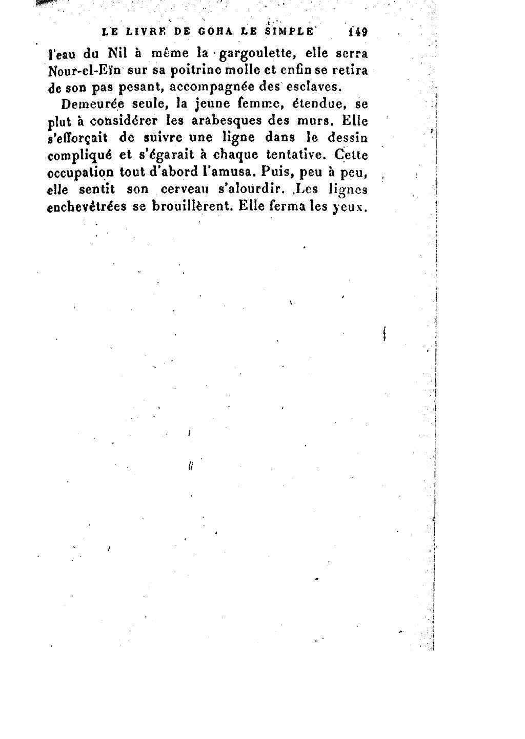 Page Ades Josipovici Mirbeau Le Livre De Goha Le