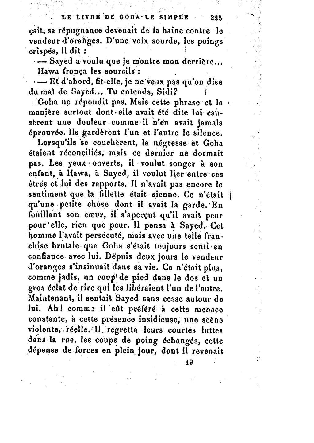 Page ades josipovici mirbeau le livre de goha le wikisource - Coup de poing dans le dos ...
