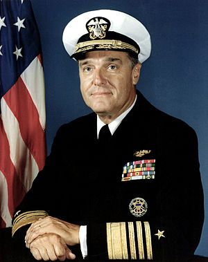 James D. Watkins - James Watkins, Chief of Naval Operations in March 1982