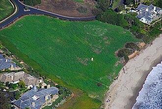 Shalawa Meadow, California - Aerial view