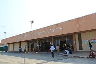 Bata Airport - Image: Aeropuerto Internacional de Bata (6510178541)