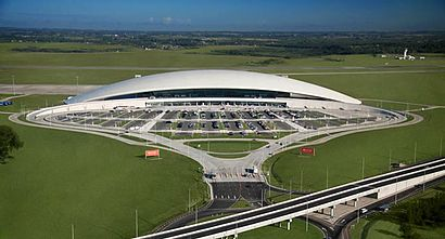 How to get to Aeropuerto Internacional De Carrasco with public transit - About the place