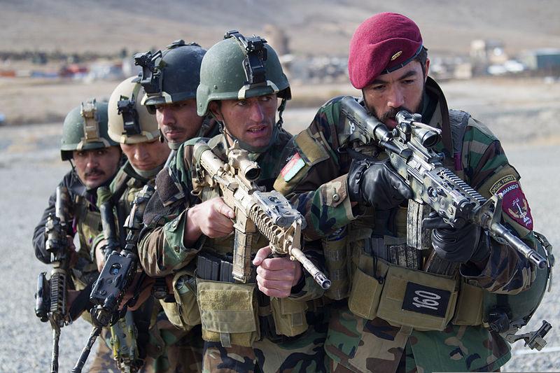 ファイル afghan national army special forces anasf members with