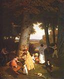 Agasse, Jacques-Laurent ~ The Playground, 1830, oil on canvas, Oskar Reinhart Collection, Winterthur.jpg