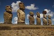 Moáis, íconos de la Isla de Pascua