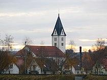 Aichstetten mit Pfarrkirche St Michael.jpg