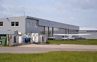 Air Hamburg - Air Hamburg Hangar at Uetersen Airfield