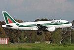 Airbus A319-112, Alitalia JP7358240.jpg