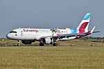 Airbus A320-214 'OE-IQD' Eurowings Europe (44050623752).jpg