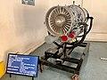 Aircraft Engines at display - Hindustan Aeronautics Limited Heritage Centre and Museum (Ank Kumar) 01.jpg