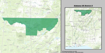Alabama's 5th congressional district - since January 3, 2013.