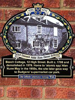 Photo of plaque № 12168