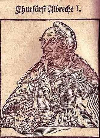 Albert I, Duke of Saxony - Image: Albrecht I von Sachsen