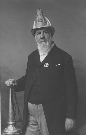 Alexander Cartwright - Cartwright in later life as fire chief